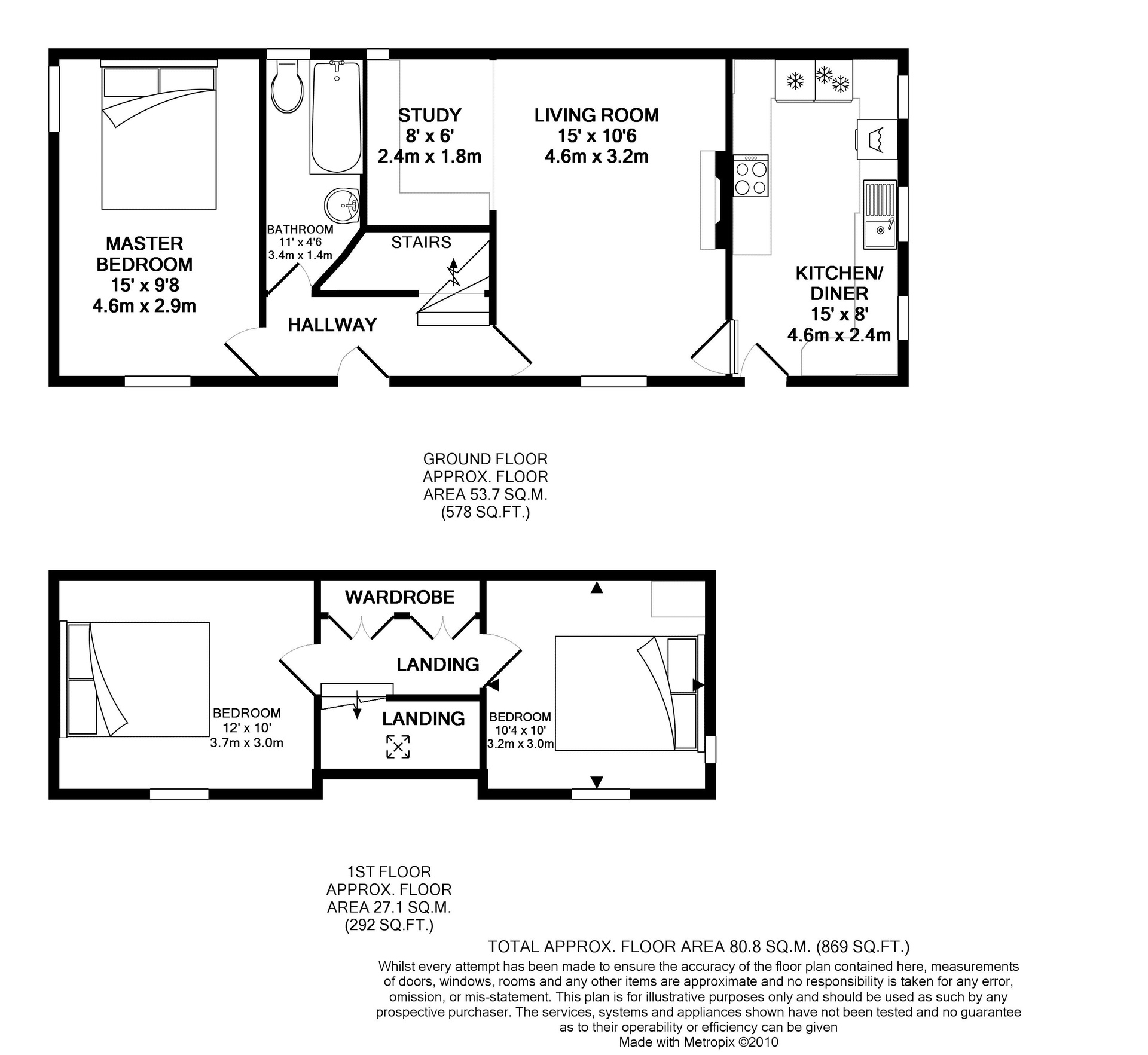Cottage Floor Plan